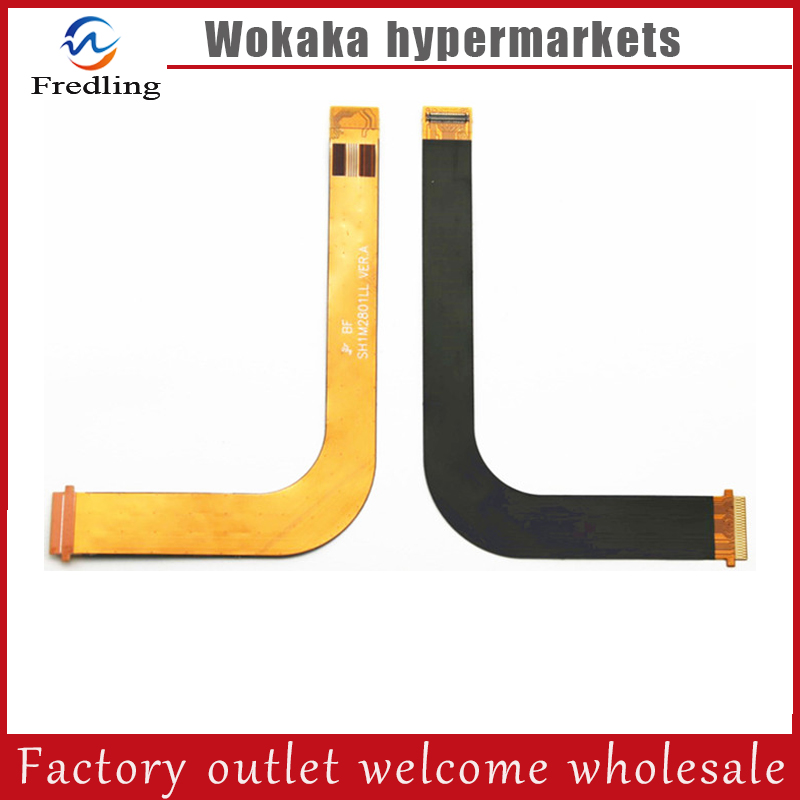 New LCD Screen Cable For HUAWEI Tablet M2-801W M2-803L SH1M2801LL VER.A MFC 1540 white golden for huawei mediapad m2 lcd m2 801w lcd omplete with digitizer assembly original aaa tested quality free shipping