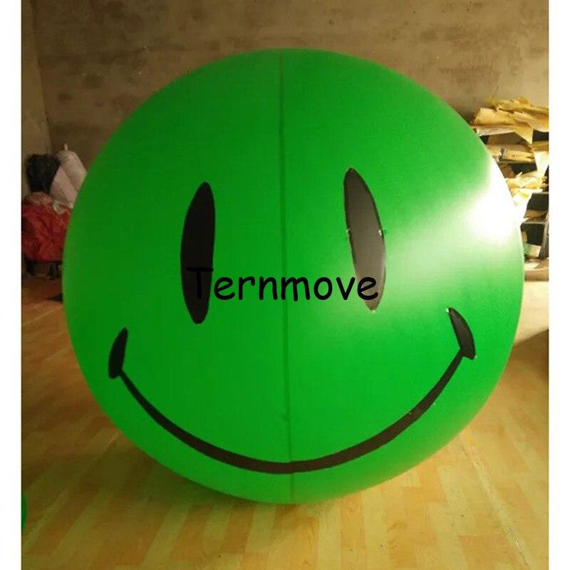 Улыбающееся лицо воздушный шар DIY логотип/фото печать ПВХ шар вечерние Вечеринка вечерние украшения партия поставки магазин Рекламные пове