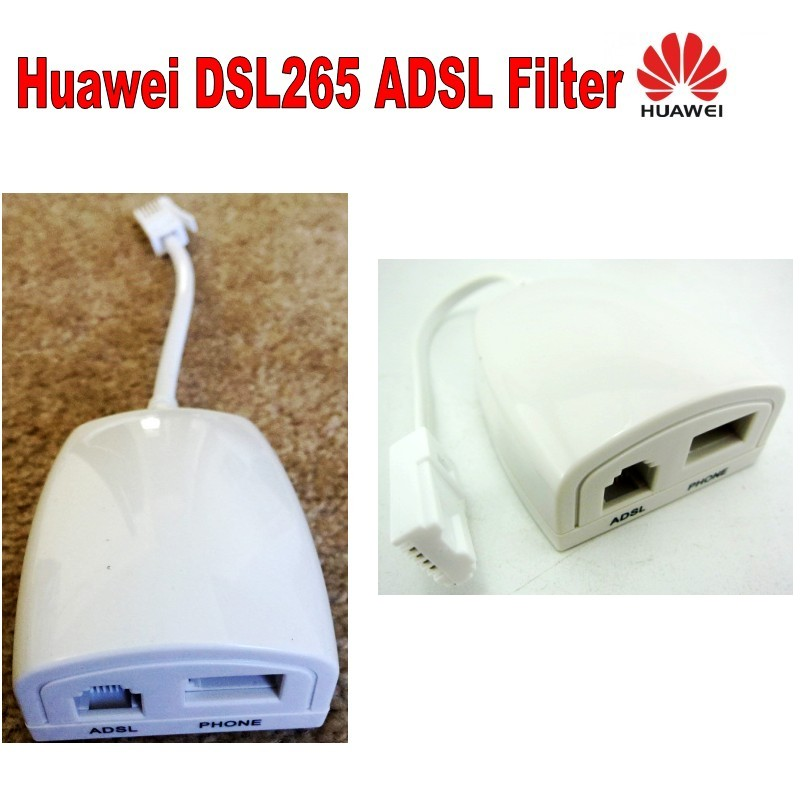 Telepermit ADSL Filter HUAWEI DSL265 Working