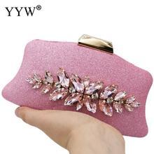 Pink Evening Party Clutch Bag Unique Clutch