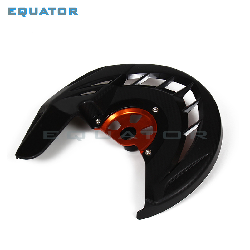 Motorcycle Front Brake Disc Rotor Guard Protecto Cover Fit KTM SX SXF XC XCF EXC EXCF 125 200 250 300 350 450 530 03-14 13 12 motorcycle front rider seat leather cover for ktm 125 200 390 duke