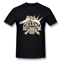 Zomer Stijl Mode T-shirts Men'S Korte O Hals Korte Mouw Aich Men'S Hank Williams Jr Iii Schedel Logo Zwarte T-shirt