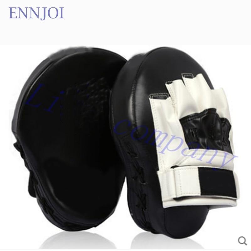 2016 hot sale PU thick curved one sandbag Boxing font b Gloves b font Pads foot