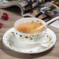 الأزياء العظام الصين كوب القهوة والصحن انقلترا وجيزة جودة زهرة الشاي isonuclear allocytoplasmic الشاي الأحمر