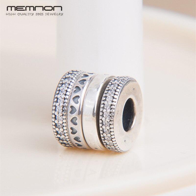 100% Authentische S925 Spinning Herzen Charms 925 Sterling Silber Perlen Fit Europäischen Charme Armband Halskette Diy Schmuck Für Frauen Schrumpffrei