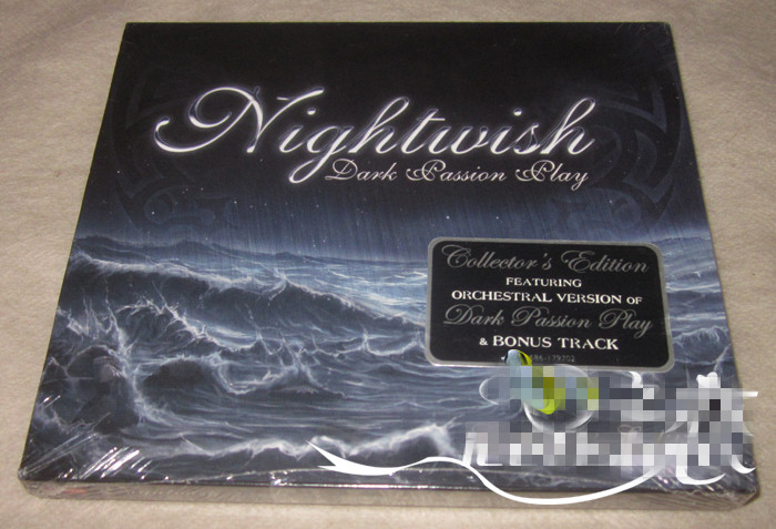 Free Shipping; US version of the night will be the band Nightwish Dark Passion Play Deluxe Edition [2CD]] sealed nightwish nightwish over the hills and far away special celebration edition 2 lp