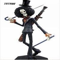 New Japanese Anime Cartoon One Piece Action Figures PVC Toys Doll POP Movie Skull Cannon Brook