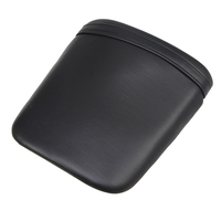 PU Leather Motorcycle Rear Passenger Seat Cover Cowl Backrest Cushion Pad Cafe Racer For Honda CBR 1000 RR 2004 2005 2006 2007