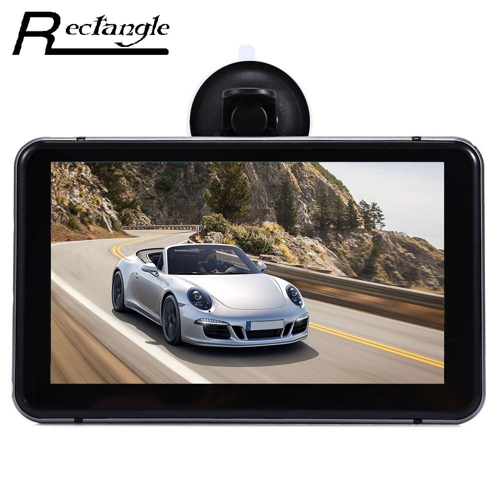 imágenes para 7 pulgadas Android Vehículo Cámara Del Coche Dvr con GPS de Navegación HD 1080 P WiFi Bluetooth MT8127 CPU Quad-core 8G Flash 512 MB