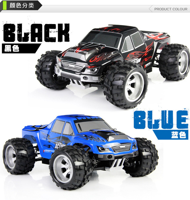 Wltoys A979 1/18 2.4GHz 4WD High Speed Monster 50Km/H Rc Racing Car With Transmitter RTR Remote Control Off-Road Vehicle 2