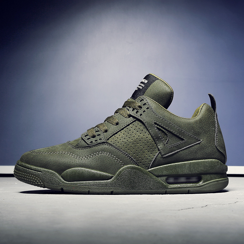 Vintage Style Air coussin hommes chaussures de course mâle basket