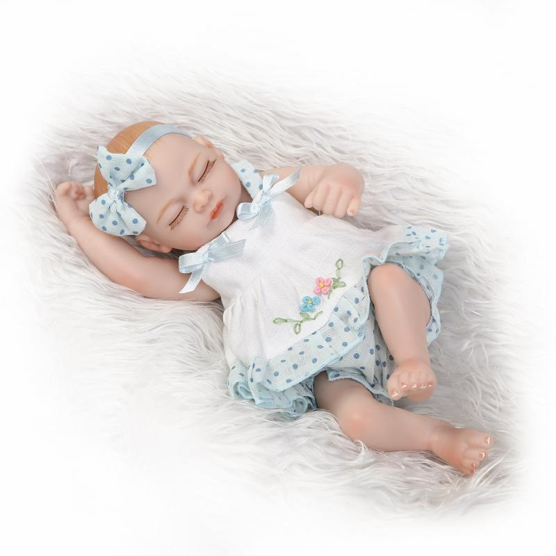 28cm baby doll mini cute simulation rebirth baby doll to send childrens Christmas gifts28cm baby doll mini cute simulation rebirth baby doll to send childrens Christmas gifts