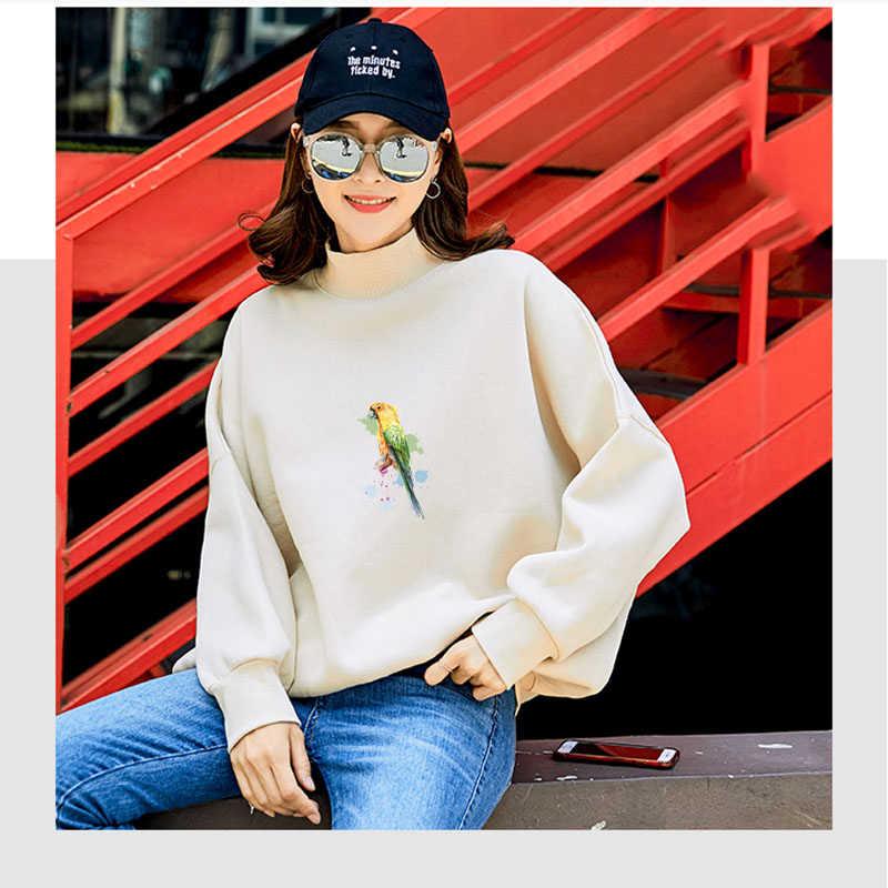 Prajna Động Vật Toucan Chim Ruồi Truyền Nhiệt Chim Vẹt Nhựa PVC Vinyl Chuyển Chim Công Xanh Dương Miếng Dán Ăn Thịt Người Hoa Miếng Dán New Hot