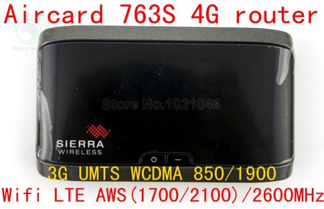 Unlocked Sierra Aircard 763S GPS 100Mbps 4G LTE wifi router lte 4g mifi dongle Wireless Router 3G wcdm UMTS Wifi Mobile Hotspot
