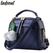 LADSOUL модная женская сумка новая оболочка женская сумка на плечо повседневные сумки через плечо хорошего качества женские сумки Bolsas lm3918/g