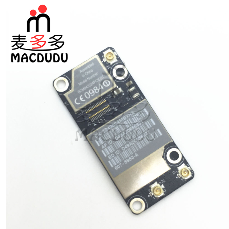 New WiFi Bluetooth AirPort Card For MacBook A1342 BCM943224PCIEBT *Verified Supplier*