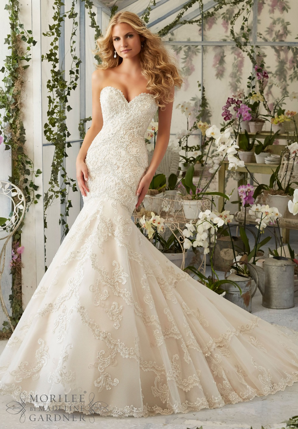 aliexpresscom buy ew403 romantic new sweetheart off shoulder sexy backless mermaid wedding dress 2016 heavy beading designer bride dresses white from