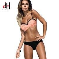 DA HAI Swimsuit European And American Bikini 2017 New Maillot Swimwear Women Swimming Suit Bather Sexy