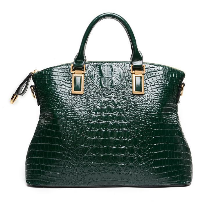 Luxury High quality crocodile bag 2017 famous brand women vintage elegant clutch leather designer handbags bolsos de marca 5 high quality iron wire frame sun glasses women retro vintage 51mm round sn2180 men women brand designer lunettes oculos de sol