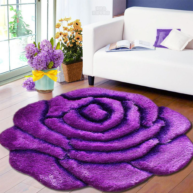 Hot 3D Stil Rose Moderne Teppich Für Wohnzimmer und Bereich ...