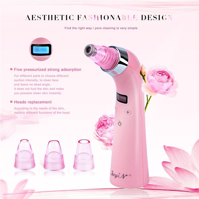 Face Cleaner Acne Black Dot Pimple Blackhead Remover Face Electric Blackhead Vacuum Cleaner Pore Blackhead Skin Care Tool Beauty