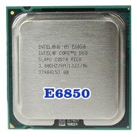 オリジナルインテルコア 2 デュオ E6850 ソケット LGA 775 Cpu プロセッサ (3/4 メートル/1333 MHz) 65 ワット -