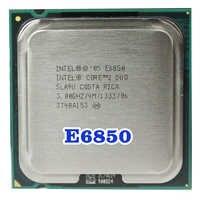 Originale Intel Core 2 Duo E6850 Socket Lga 775 Processore Cpu (3 Ghz/4 M/1333 Mhz) 65W