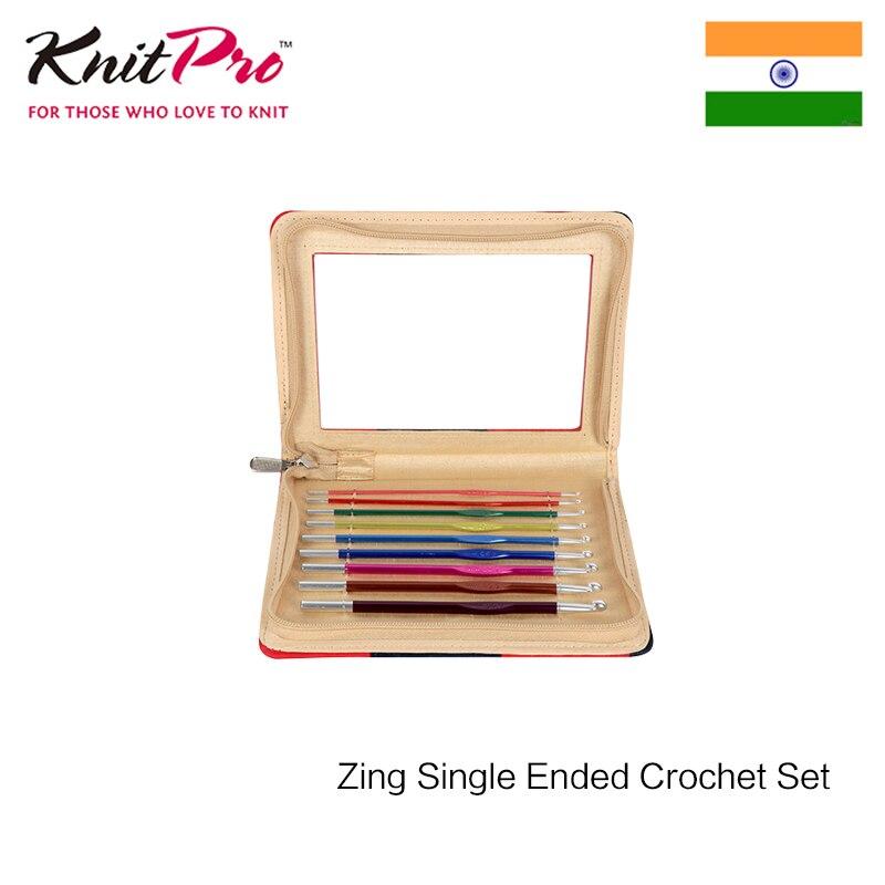 Knitpro Zing Single Ended Crochet Set Knitting Needle