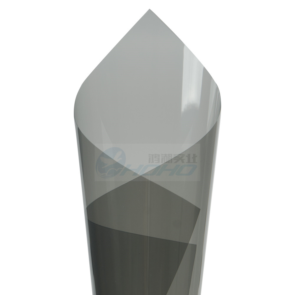 Thicken 4mil light grey uv insulation car window for 2 ply window tint film