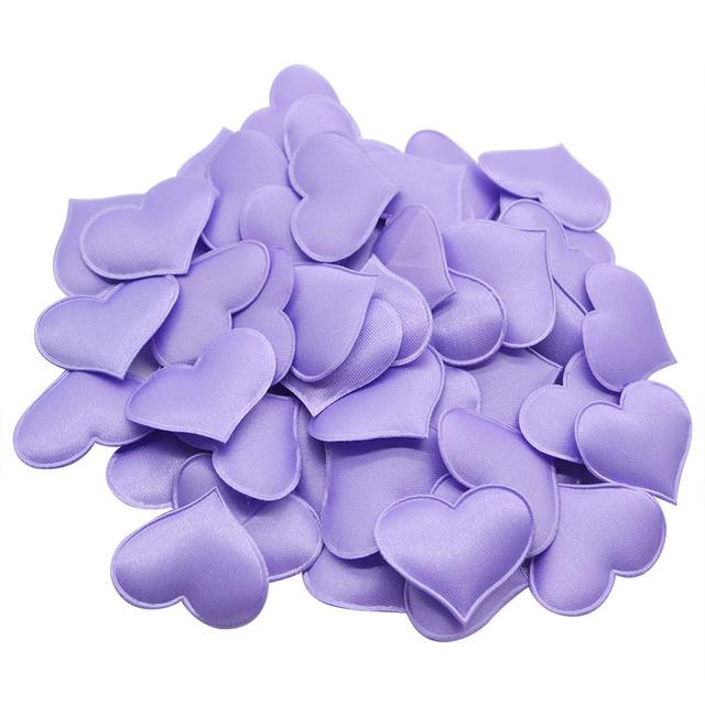 100 piezas  de confeti de Corazón para Boda y San Valentín