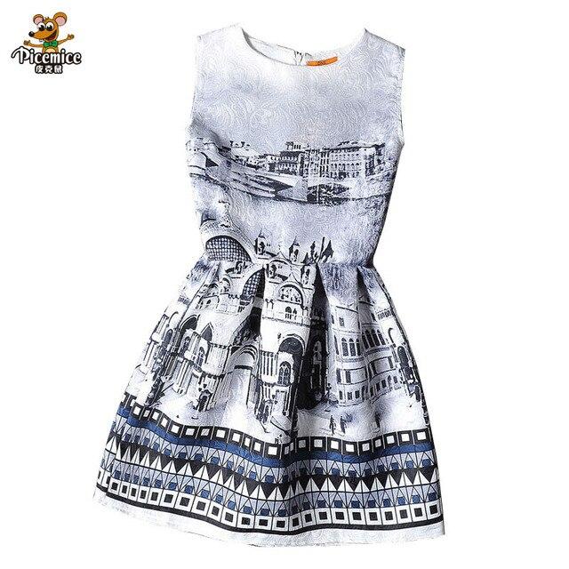 Multi style children costume Teenagers Elegant dresses Formal party dress for girls princess clothing robe fille enfant