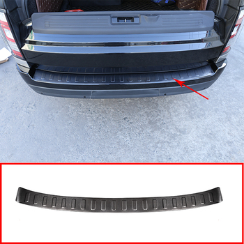 For Land Rover Range Rover Vogue L405 2013-2018 Car Accessories 1 Pcs Stainless Steel Rear Outside Bumper Plate Cover