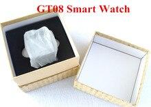 Tragbare geräte Smart Uhr gt08 Unterstützung Sim-karte Uhr Sync Notifier Mit Android-Handy Bluetooth Verbinden iphone Smartwatch