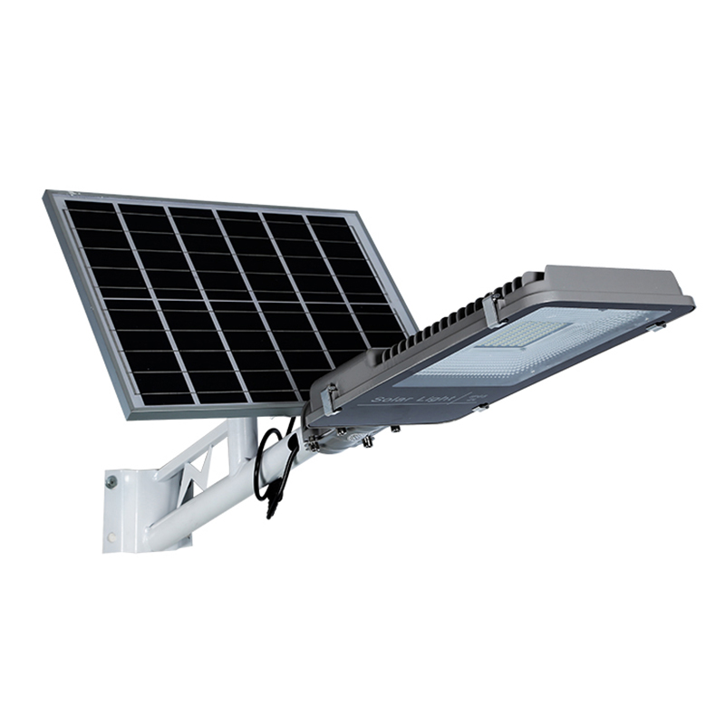 led solar street light IP54 bulbs included aluminum lampadaire solaire lights with motion sensor