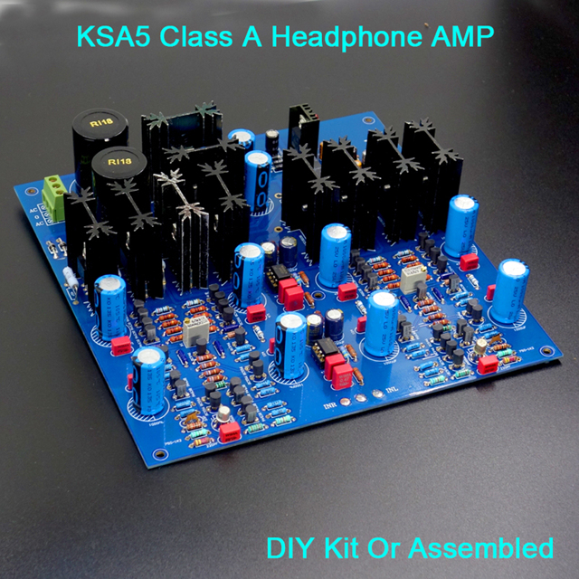 Back To Search Resultsconsumer Electronics Portable Audio & Video Fast Deliver Hifi Headphone Amplifier Ksa5 Class A Headphone Amp 2n556x Input Stage Mje15034 15035 Transistor Quality Parts For Head-fi Diy Skilful Manufacture