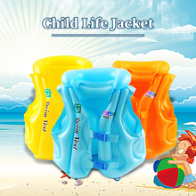 2019 Life Jacket Children PVC Float Inflatable Swim Buoyancy Vest Life Vest  Learning Swimming  Ring Aid for Age 3-6 A baby buoyant swimwear girl quick drying life jacket one piece buoyancy swimsuit high elasticity pool float kid learning swimming