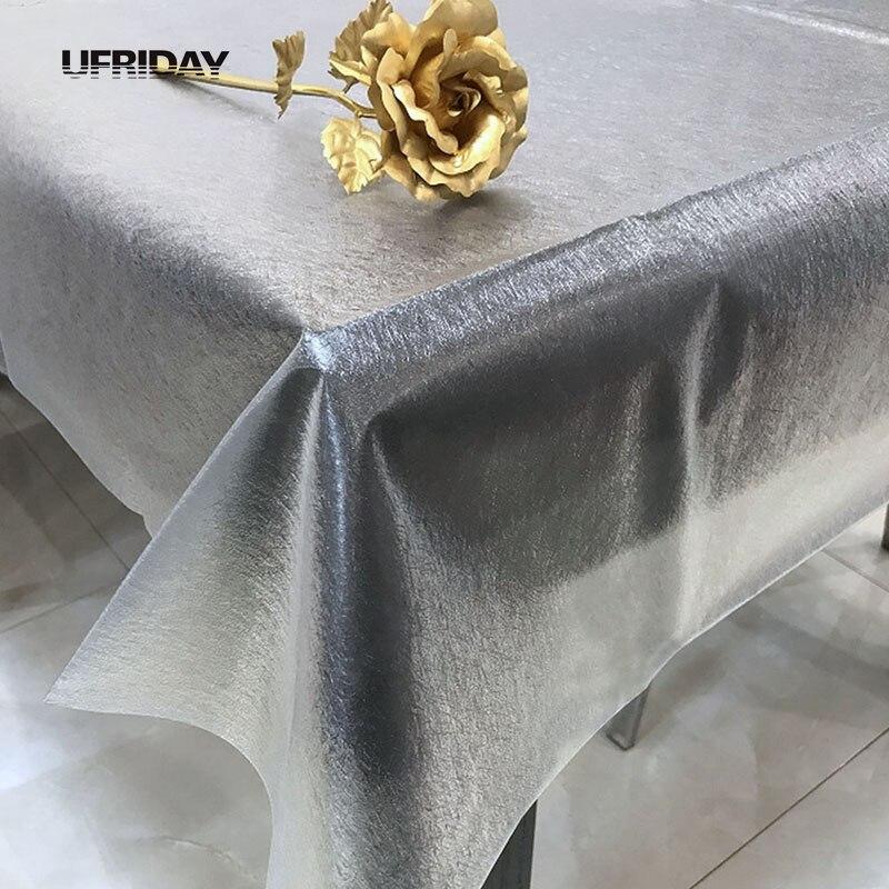 UFRIDAY 3D мягкие Стекло прозрачный скатерти шелковые Пластик Скатерти Водонепроницаемый Кухня обеденный вечерние Home Hotel Скатерть ПВХ