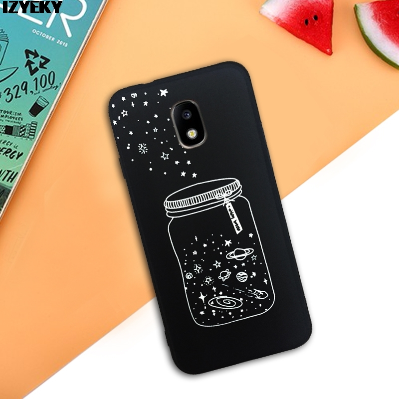 Half-wrapped Case Izyeky Case For Samsung Galaxy J3 J5 J7 2017 Eu Plush Eyes 3d Love Heart Cover For J3 J5 J7 2017 J330fj530f J730f Ball Pendant