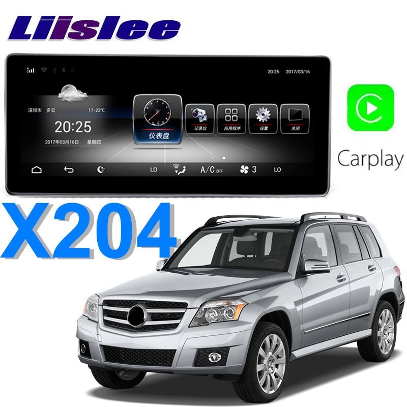 Liislee Car Multimedia Player NAVI For Mercedes Benz GLK Class MB X204 GLK250 GLK350 2008~2012 Car Radio Stereo GPS Navigation 7 android car radio audio dvd gps navigation central multimedia for mercedes benz glk x204 2007 2008 2009 2010 2011 2012 2013