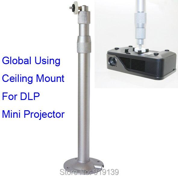 Nouveau En Alliage D'aluminium Plafond Support Universel Support Pour Mini DLP LED Vidéo Projecteur 30 à 60 cm Télescopique Tength Livraison gratuite
