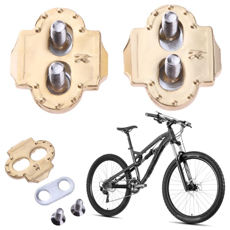 1Pair Cycling Pedal Cleats Bike Self-locking Pedal Splint For Road Cycling Shoes