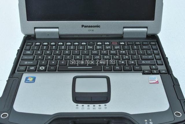 Gran oferta, portátil Toughbook CF30 de alta calidad con disco duro de 500G/4G RAM/Win7 Enlgish CF 30 CF-30, envío gratis por DHL