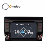 Ownice C500 Quad Core 1024 600 Android 6 0 Car DVD Player For Fiat Bravo 2007