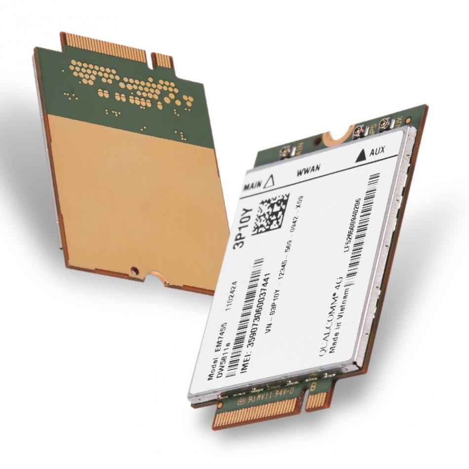 Wireless EM7455 for Dell DW5811e 3P10Y Qualcomm 4G LTE WWAN NGFF Card Module Free Shipping huawei me936 4 g lte module ngff wcdma quad band edge gprs gsm penta band dc hspa hsp wwan card