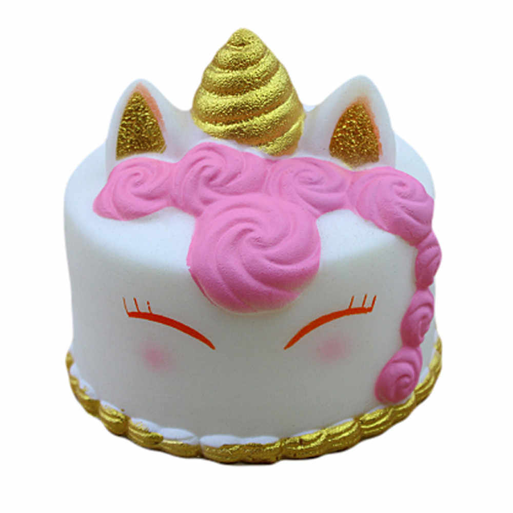 Decompression Toy Lovely Kawaii Cartoon Cake Squishies Slow Rising Cream Scented Stress Reliever Toys poopsie surprise unicorn