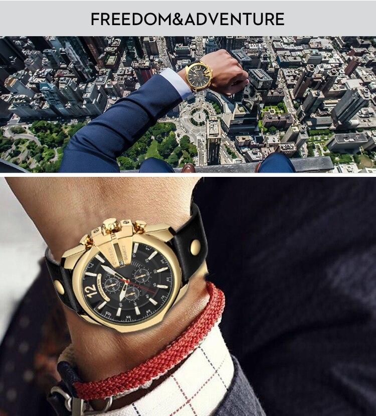 18 Style Fashion Watches Super Man Luxury Brand CURREN Watches Men Women Men's Watch Retro Quartz Relogio Masculion For Gift 5