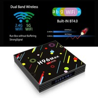 H96 MAX H2 4G RAM 64G ROM Smart TV Box For Android 7 1 RK3328 Quad
