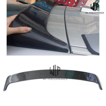 E71 Carbon Fiber Rear Spoiler Top Wings Car Styling For BMW X6 E71 Car body kit 2008-2014 image