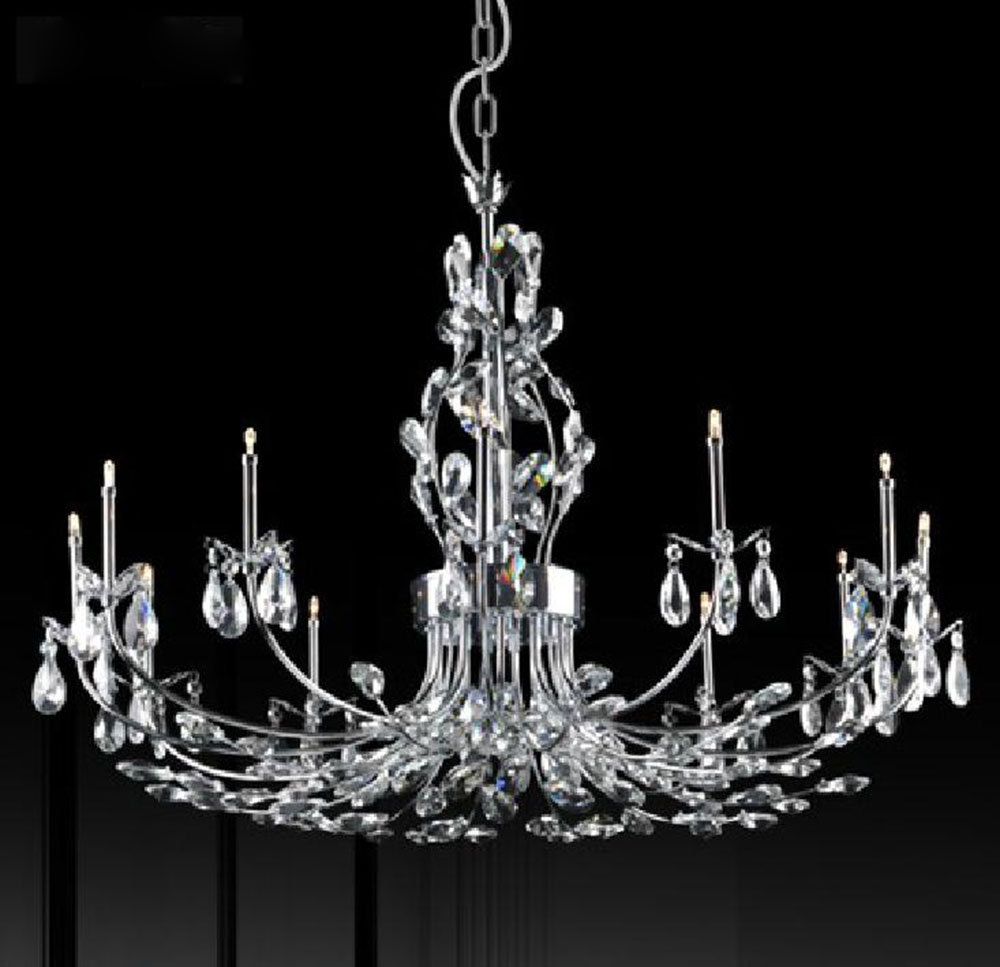 Luminaire Lighting Us 356 European Lustre Home Luminaire Led Chandeliers Lights Fixtures Big Tree Branch Mansion Crystal Chandelier Lamp 8 12 24 Lights In