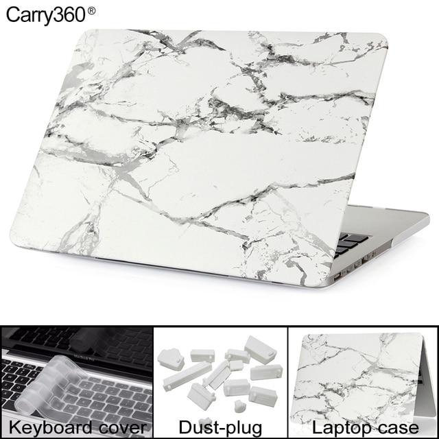 Neue marmor textur hartschalenetui für apple macbook air pro retina 11 12 13 15 zoll Laptop-tasche für Mac book Pro 13 mit Touch Bar